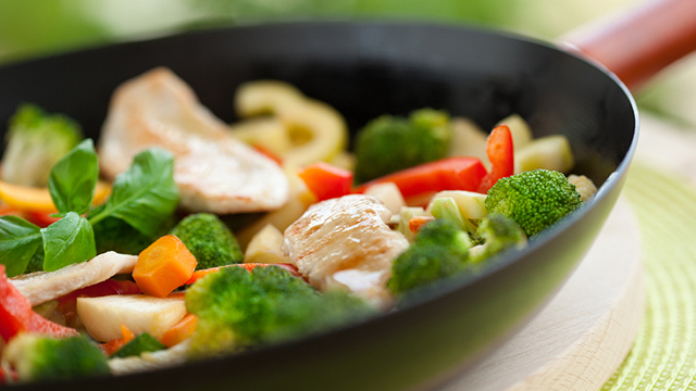 Ginger Stir Fry Veggies