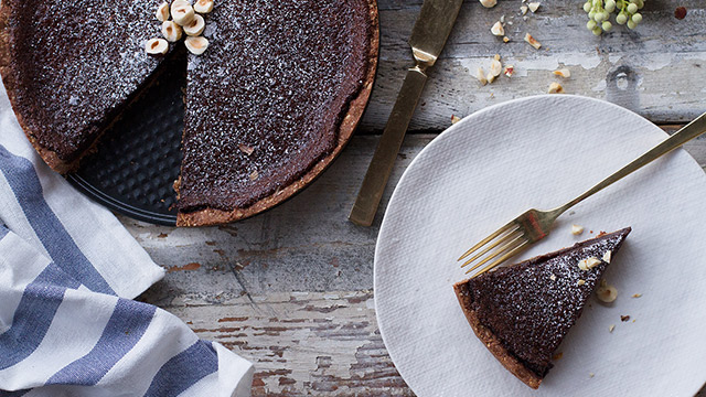 DIY Thanksgiving Pie: Chocolate